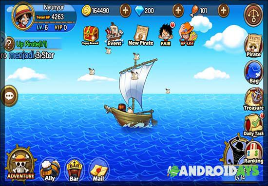 Game One Piece Android Ocean Rebellion