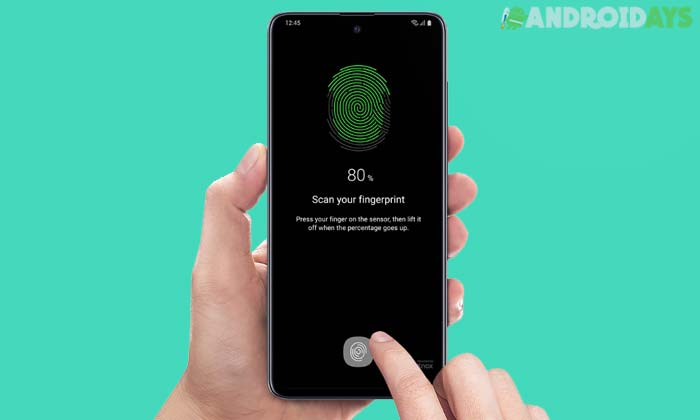 Fingerprint Samsung A51
