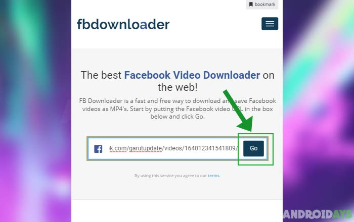Download Video Dari FB