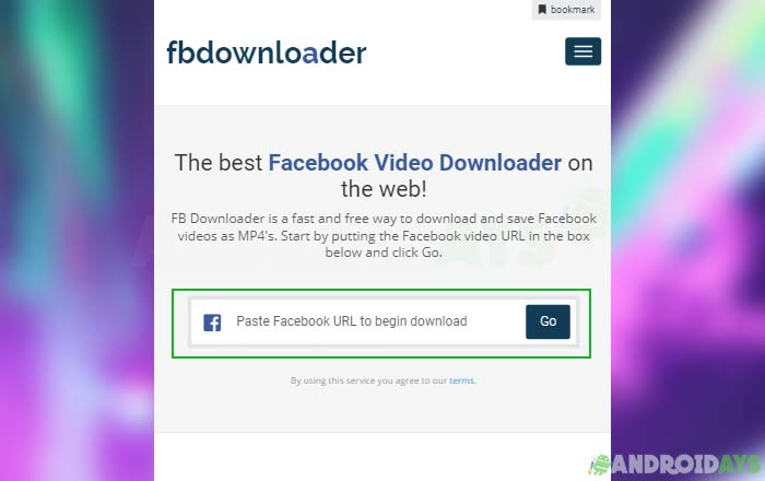 Situs Download Video Facebook