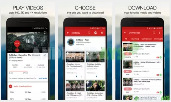 Aplikasi Download Video Android Videoder