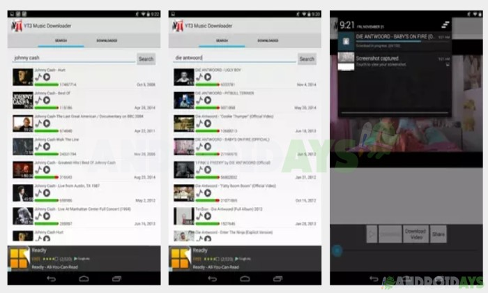 Aplikasi Download Video Android YT3