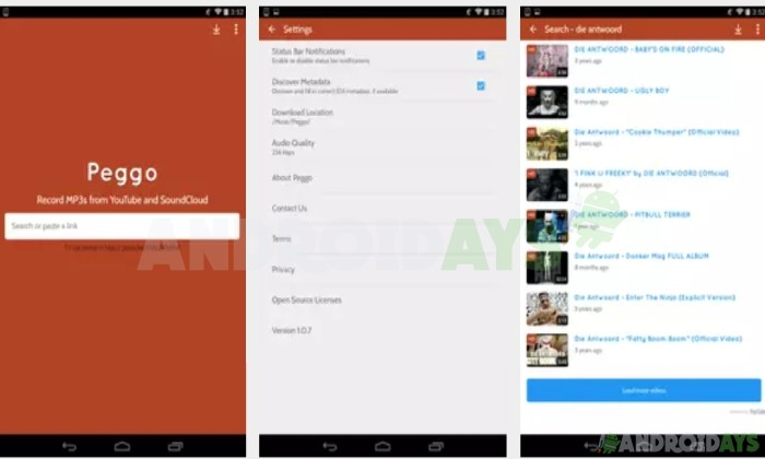 Aplikasi Download Video Android Peggo