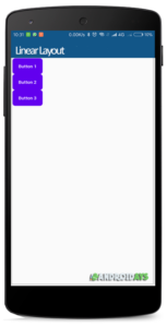 Linear Layout Vertical