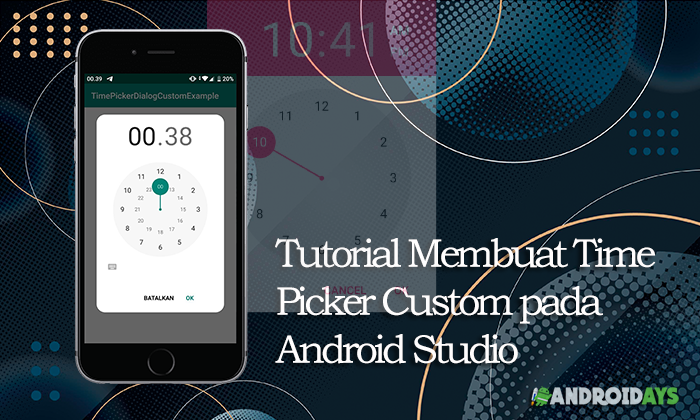 Tutorial Membuat Time Picker Custom pada Android Studio