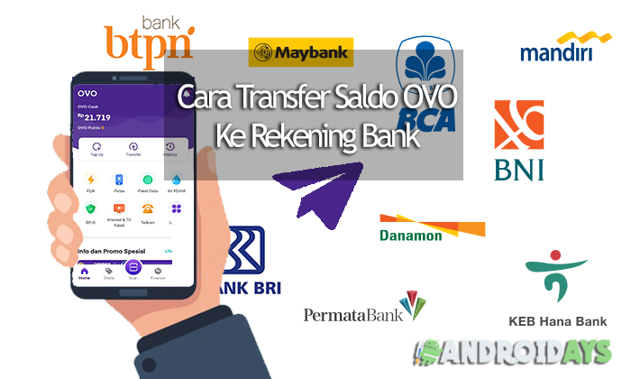 Cara Transfer OVO Ke Bank
