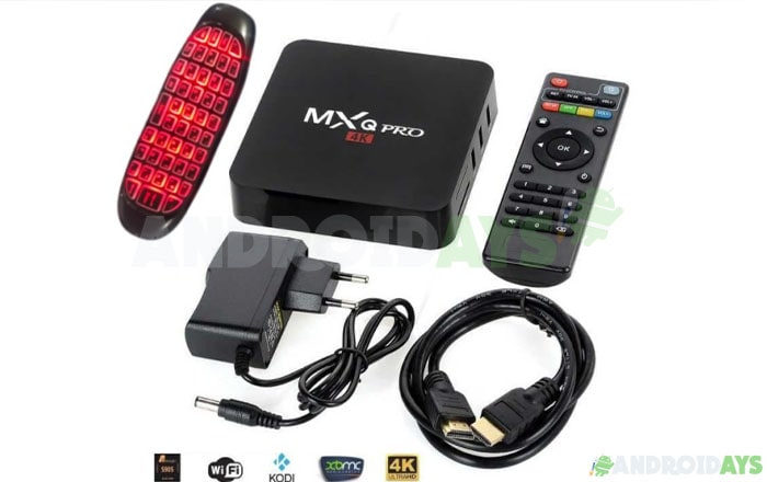 Android TV Box MX-Q 4K