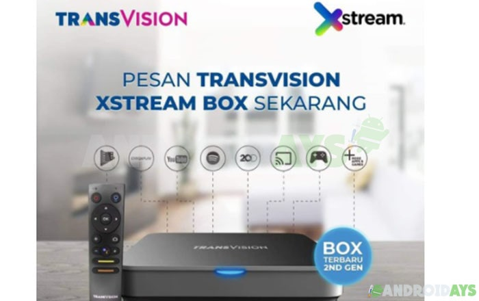 Android TV Box Transvision