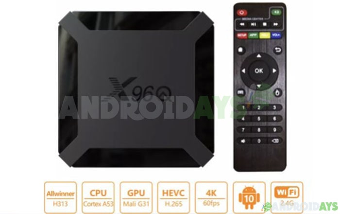 Android TV Box X96Q
